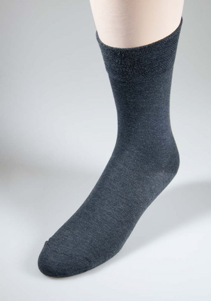 RS Herrensocken mit Softrand - anthrazit