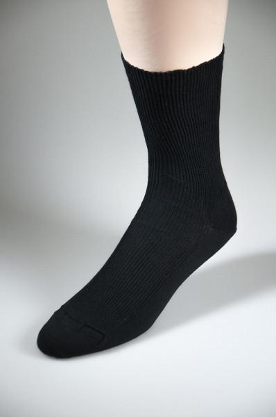 Herrensocken Baumwollmischung schwarz in Übergröße 48 - 52 - Art.Nr. 2850