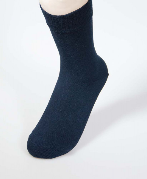 RS Damensocken mit Softrand - dunkelblau