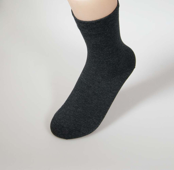 RS Damensocken mit Softrand - anthrazit