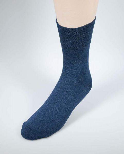 Diabetiker Spezialsocke - jeansblau - für Damen